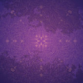 Purple background with snowflake, vector illustration — Stock Vector