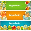 Royalty-Free Stock Vector Image: Banner set. Easter cards  with a place for your text
