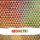 Ottica effetto colorato motivo geometrico astratto. — Vettoriale Stock