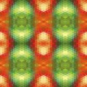 Abstracte etnische naadloze geometrische patroon. naadloze abstracte ge — Stockvector