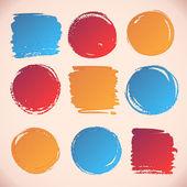 Watercolor banners — Stock Vector