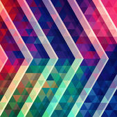 Abstract raster polygonal ornamental background. — Stock Photo