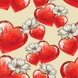 Seamless pattern for Valentine — Imagen vectorial