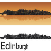 Edinburgh skyline — Stock Vector
