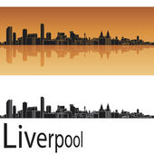 Liverpool skyline — Stock Vector