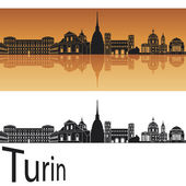 Turin skyline — Stock Vector