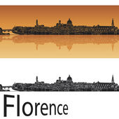 Florence skyline — Stock Vector