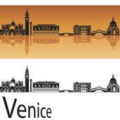 Venice skyline — Stock Vector