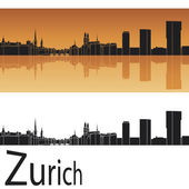 Zurich skyline — Stock Vector