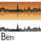 Bern skyline — Stock Vector