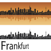Frankfurt skyline — Stock Vector