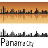 Panama City skyline — Stock Vector