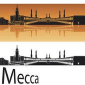 Mecca skyline — Stock Vector