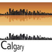 Calgary skyline — Stock Vector