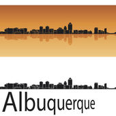 Albuquerque skyline — Stock Vector