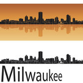 Horizonte de milwaukee — Vector de stock