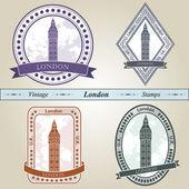 Vintage stämpel london — Stockvektor