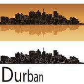 Durban skyline — Stock Vector