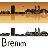 Bremen skyline — Stock Vector