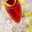 Red drink — Stock Photo #16830563