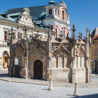 Kutna Hora, Czech Republic. Gothic Fountain. - Stock Photo