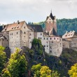 Stock Photo: Loket castle, Czech Republic