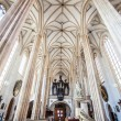 The interior of the church of St James in Brno, Czech Republic — Stock Photo #21529603