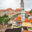 Stock Photo: Cesky Krumlov, Czech Republic.