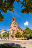 Evangelical Church of Red John Amos Comenius in Brno, Czech Republic — Stock Photo