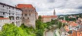 Panorama of Cesky Krumlov, Czech Republic. — Stock Photo