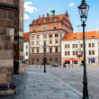 ������, ������: PILSEN PLZEN CZECH REPUBLIC AUGUST 12 2012: Famous renaissance Town Hall in Pilsen Plzen It stands on the old market square as against the Cathedral of St Bartholomew