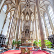 The interior of the church of St James in Brno, Czech Republic. — Stock Photo