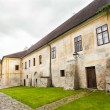 Gothic Cistercian monastery in Zlata Koruna, Czech Republic - Stockfoto