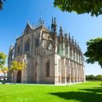 Kutna Hora, Czech Republic. Church of Saint Barbara. UNESCO World Heritage Site — Stock Photo