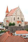 Church of St Nicholas and St Wenceslas Chapel in Znojmo, Czech Republic — Stock Photo