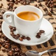 Stock Photo: Espresso, coffee cup