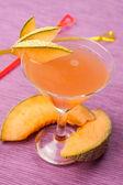 Bebida de melão — Foto Stock