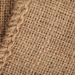 Texture of the bag, canvas — Stock Photo