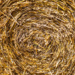 Texture of hay, close up - Stock Photo
