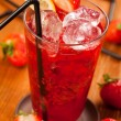 Strawberry drink — Stock Photo