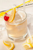 Drink with whiskey — Stock Photo