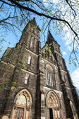 Prague, Czech Republic Basilica of St Peter and Paul on Vysehrad in Prague Old frequently rebuild church from XI century In this Basilica are relics of St Valentine — Stock Photo