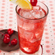 Red drink — Stock Photo #27748457