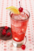 Red drink — Stock Photo