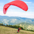 Paraglider in mountains — Stock Photo #28848671