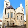 Постер, плакат: Prague Czech Republic St Georges Basilica and convent Present Romanesque