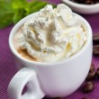 Dessert coffee — Stock Photo