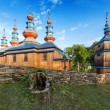 Stock Photo: Eastern Orthodox Church in Komancza, Poland