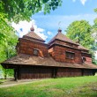 Stock Photo: Eastern Orthodox Church, Lemko church in Smolnik, Poland