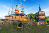 Eastern Orthodox Church in Komancza, Poland — Stockfoto